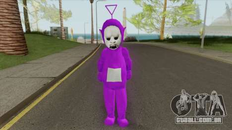 Tinky Winky (SlendyTubbies 3) para GTA San Andreas