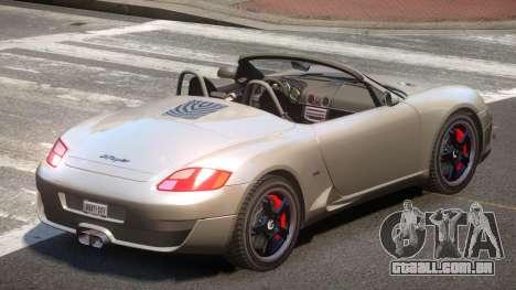RUF RK Roadster V1.1 para GTA 4