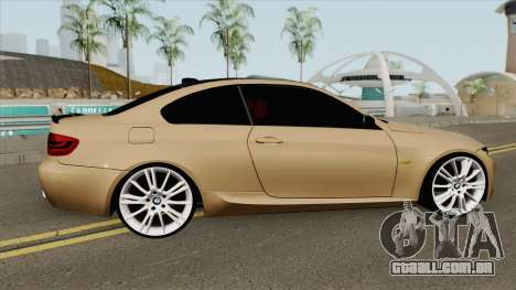 BMW E92 335D M-Tech 2010 para GTA San Andreas