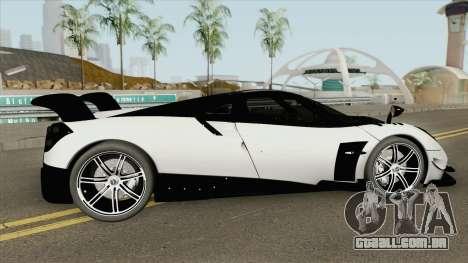 Pagani Huayra BC (RHA) para GTA San Andreas