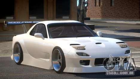 Mazda RX-7 RT Tuning para GTA 4