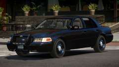 Ford Crown Victoria BE Police V1.1 para GTA 4