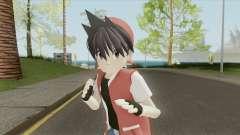 Trainer Red (Pokemon Adventures Manga) para GTA San Andreas