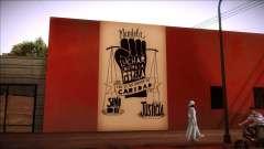 Mural de Mandela sobre a pobreza para GTA San Andreas