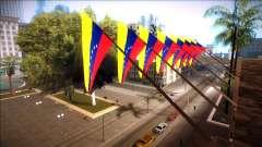 Bolivar bandeira na câmara municipal e a delegacia de polícia para GTA San Andreas