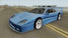 Turismo F40-GT (BlueRay) para GTA San Andreas