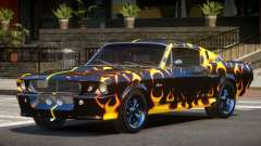 1968 Shelby GT500 PJ3 para GTA 4