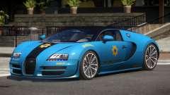 Bugatti Veryon Police V1.1 para GTA 4
