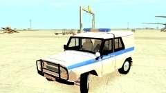A Polícia UAZ 31512