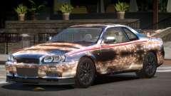 Nissan Skyline GT-R R34 Qz PJ2 para GTA 4
