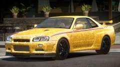 Nissan Skyline GT-R R34 Qz PJ6 para GTA 4