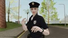 Rubia Policeman V1 (Bugstars Equipment) para GTA San Andreas
