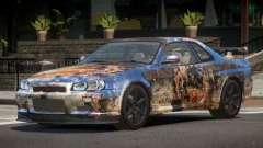 Nissan Skyline R34 L-Tuned PJ4 para GTA 4
