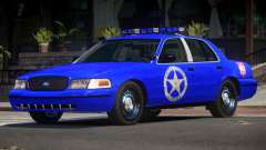 Ford Crown Victoria USM Police para GTA 4