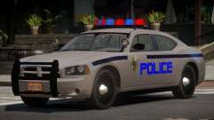 Dodge Charger RS Police para GTA 4