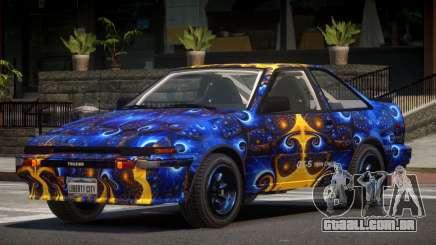 Toyota AE86 GT-S Coupe PJ3 para GTA 4