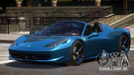 Ferrari 458 S-Tuned para GTA 4
