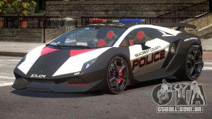 Lamborghini SE Police V1.2 para GTA 4