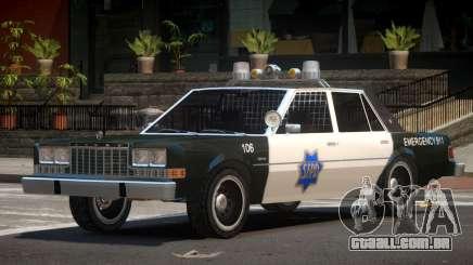Dodge Diplomat Police V1.5 para GTA 4
