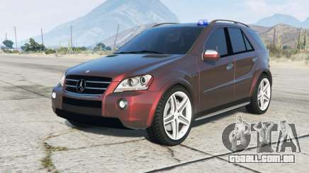 Mercedes-Benz ML 63 AMG Kriminalpolizei para GTA 5