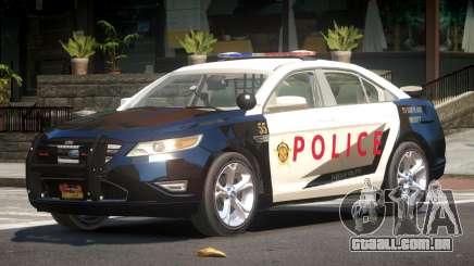 Ford Taurus RS Police para GTA 4