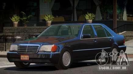 Mercedes Benz 600SEL V1.3 para GTA 4