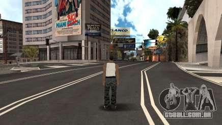 Romeno HQ Estradas v2 para GTA San Andreas