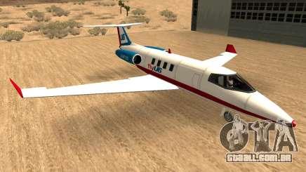 Buckinghan Shamal-Luxor V2 (Companhias Aéreas Canta) para GTA San Andreas