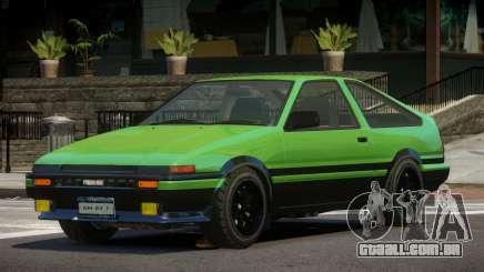 Toyota Trueno ST para GTA 4
