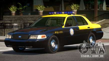 Ford Crown Victoria Florida Police para GTA 4