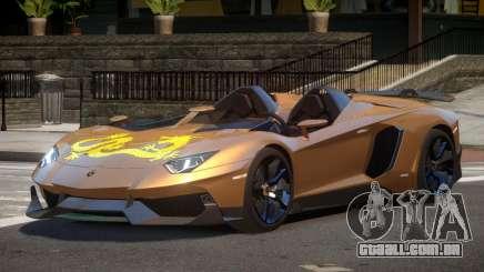 Lamborghini Aventador J V1.1 para GTA 4