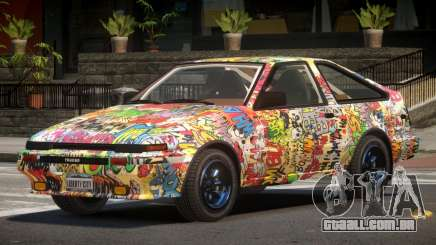 Toyota AE86 GT-S Hatchback PJ5 para GTA 4