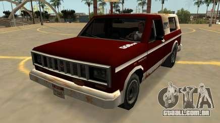Insípido Bobcat Farmtruck (Crachás E Extras) para GTA San Andreas