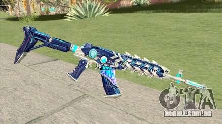 AK-47 (Broken Ice) para GTA San Andreas