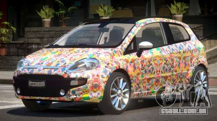Fiat Punto RS PJ5 para GTA 4