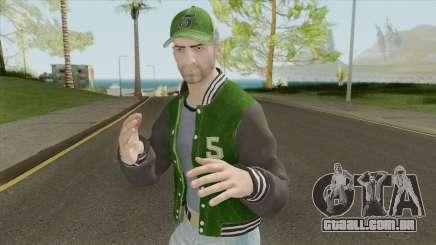 PUBG Male Skin (Varsity Jacket Outfit) para GTA San Andreas