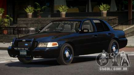 Ford Crown Victoria BE Police V1.1 para GTA 4