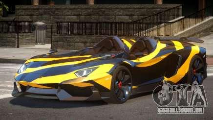 Lamborghini Aventador Spider SR PJ5 para GTA 4