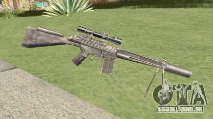 G3SH1 Silenced para GTA San Andreas