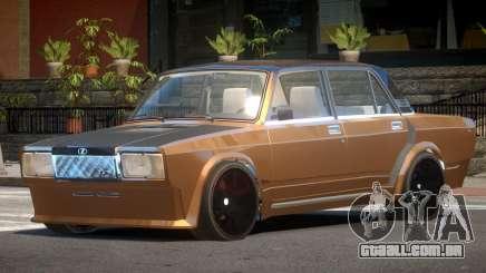 VAZ 2107 D-Style para GTA 4