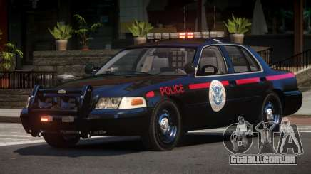 1997 Ford Crown Victoria Police para GTA 4