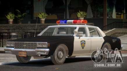Chevrolet Impala ST Police para GTA 4