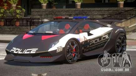 Lamborghini SE Police V1.1 para GTA 4