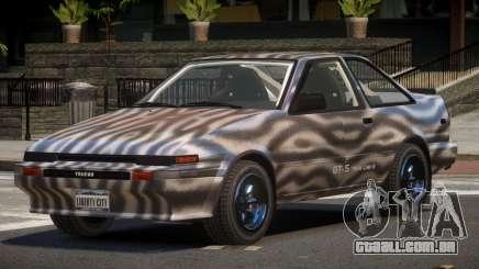 Toyota AE86 GT-S Coupe PJ4 para GTA 4