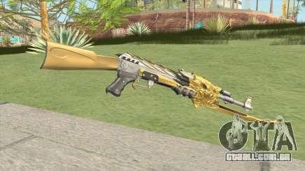 AK-47 (Beast Imperial Gold) para GTA San Andreas