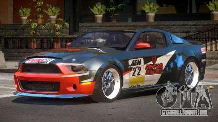 Shelby GT500 SR PJ5 para GTA 4