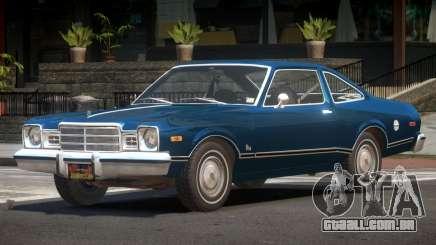 Plymouth Volare ST para GTA 4