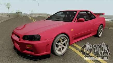 Nissan Skyline R34 GT-R IVF para GTA San Andreas