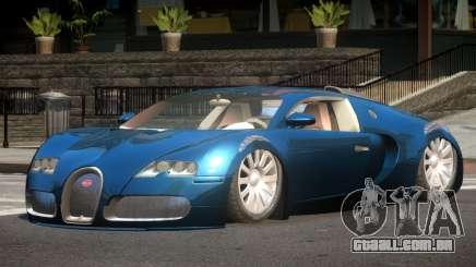 Bugatti Veyron 16.4 SR para GTA 4