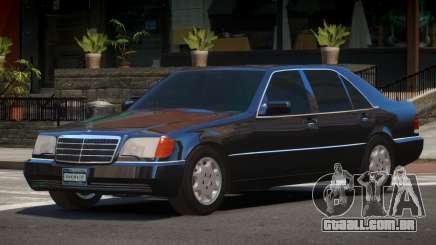 1993 Mercedes 600SEL para GTA 4